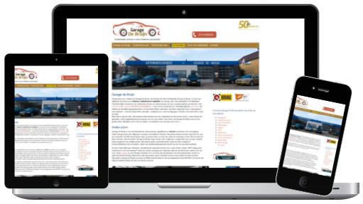 Garage de bruijn website